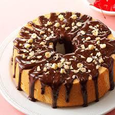 check out mocha hazelnut glazed angel food cake it u0027s so easy to