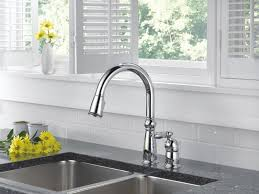 widespread kitchen faucet steel delta victorian kitchen faucet wall mount two handle pull