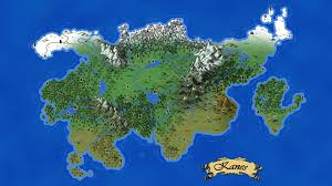 World Map Generator by My First Dnd Fantasy Map Continent Kanes Seeing If I Can Improve