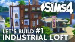 industrial apartments die sims 4 let u0027s build industrial loft 1 apartment haus bauen