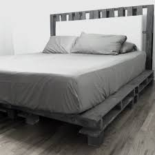 Cal King Platform Bed Frame Wonderful California King Platform Bed With Grey Bedding King