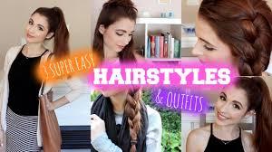 3 easy hairstyles u0026 youtube