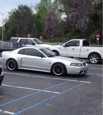 Black Mustang 2000 Stanced Mustang Mustang Evolution
