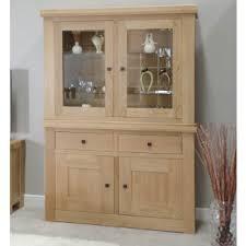 dining room display cabinets units oak furniture uk