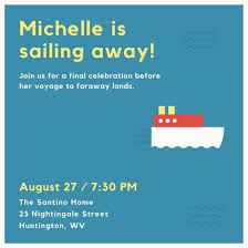 going away party invitations farewell party invitation templates canva