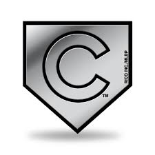 home plate chicago cubs logo 3d home plate chrome decal sticker new truck car