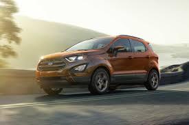 2018 ford ecosport titanium compact suv model highlights ford com