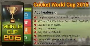 Cricket World Cup Table Cricket World Cup 2015 By Viaviwebtech Codecanyon