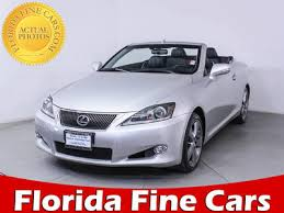 lexus is 250 convertible used for sale used lexus is 250c convertible for sale in miami fl florida