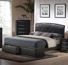 Cheap Bedroom Furniture Bedroom Cheap Queen Bedroom Sets With Sleigh Black Bed And