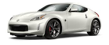 white nissan 2016 nissan 370z coupe sports car nissan