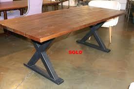 Unfinished Pedestal Table Metal Pedestal Dining Table Base Voussoir Unfinished 29391