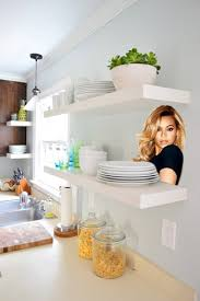 Heavy Duty Floating Shelves by Hanging Ikea Floating Shelves In Our Kitchen Young House Love