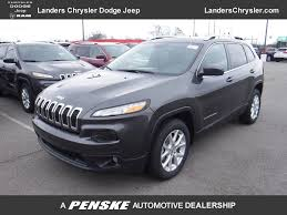 2017 jeep cherokee sport 2017 new jeep cherokee latitude fwd at landers serving little rock