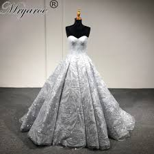 silver wedding dresses mryarce bling bling sweetheart gowns dresses silver white