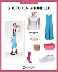 loonette the clown halloween costume dress like gretchen grundler costumes halloween ideas and
