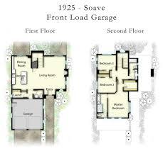 California Split Floor Plan by Toscano Midland Pacific Homes