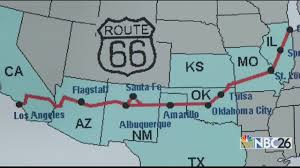 Route 66 New Mexico Map by Better Biking Route 66 Bicycle Adventure Youtube