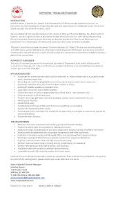 event assistant cover letter wanted special event assistant malahat nation