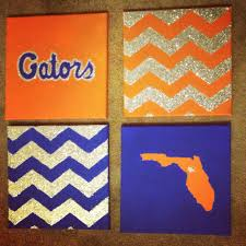 gators canvas art crafts pinterest canvases craft and