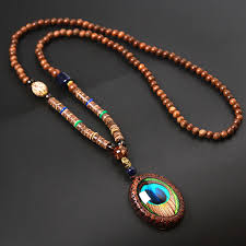 vintage necklace styles images Boeycjr 13 styles available panga panga wood beads necklace jpg