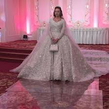 elie saab wedding dresses inside the world of couture wedding dresses 6 000 hours spent on