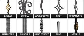 custom iron balusters
