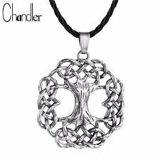 chandler yggdrasil tree of pendant necklace ash tree