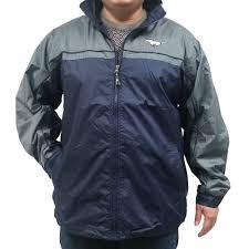 ford mustang jacket jackets ford mustang windbreaker navy blue w gray running pony