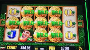wild leprechauns slot machine pokie free spins bonus big win