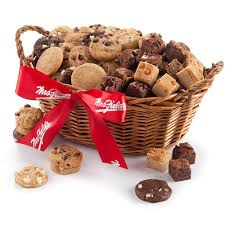 mrs fields goodies basket with special walmart
