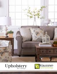 Klaussner Asheboro Nc Upholstery 2017 Catalog By Klaussner Home Furnishings Issuu