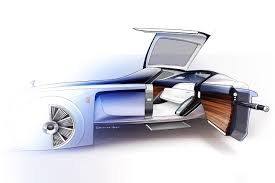 futuristic cars drawings bmw group the next 100 years brand visions