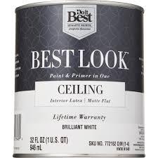 do it best best look latex paint u0026 primer in one matte flat
