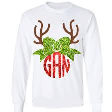 monogram christmas christmas baileywicks