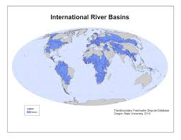 worlds rivers map maps and images gallery water conflict management and