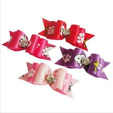 wholesale hairbows wholesale pet product made dog grooming pet hair bows doggie