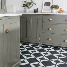 black and white kitchen floor images dovetail ink black