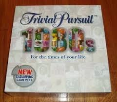 trivial pursuit 80s trivial pursuit 1980s board boardgamegeek
