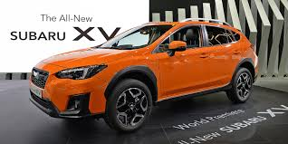 subaru orange crosstrek subaru crosstrek 2018 immer im trend