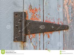 Antique Barn Door Hinges by Close Up Of Antique Barn Hinge Royalty Free Stock Photo Image