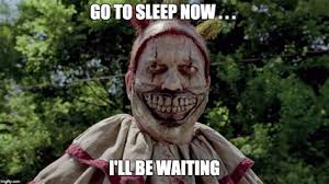 Evil Clown Memes - scary under your bed memes scary movie clown under bed jeremybyrnes
