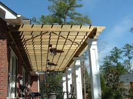 Pergola Roof Cover by Exterior Charming Outdoor Living Space Design Using Trees Pergola
