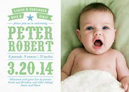 birth announcement birth announcement cards custom birth announcements mailed for you