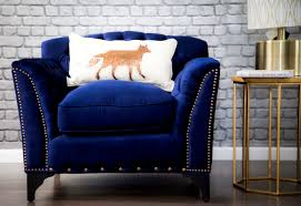 Navy Blue Accent Chair Velvet Blue Chair Small Navy Blue Accent Chair Handy Living Park