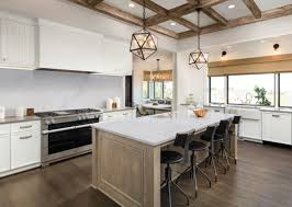 what floor goes best with white cabinets white cabinets with gray countertops add depth to your