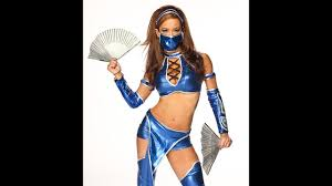 wwe halloween costumes for kids aj lee as kitana from 50 best diva halloween costumes ever photos
