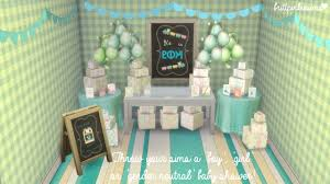 mod baby shower brittpinkiesims baby shower custom event mod sims 4 downloads