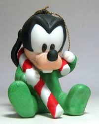 baby goofy with ornament from our collection