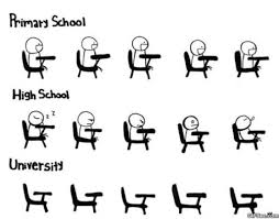 University Memes - primary vs high school vs university memes imglulz